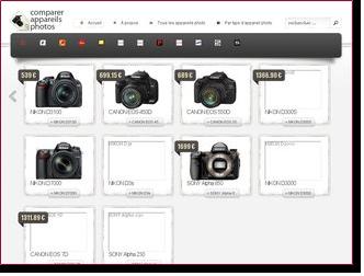 Exemple de site où les images ne sont pas totalement chargées