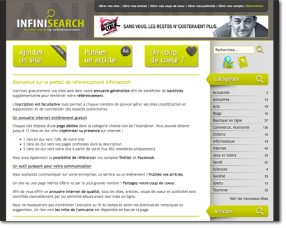 Infinisearch innove en permanence
