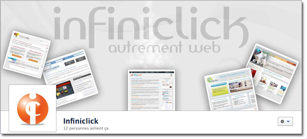 Page Facebook d'Infini'click