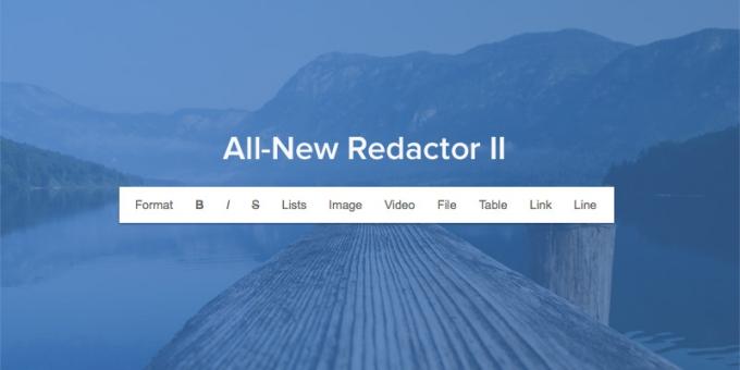 Redactor II