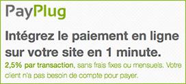 Proposez Payplug sur votre site